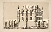 Château de Chenonceau, No 1, after Ducerceau