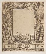 Design for a frame for the portrait of Armand Guéraud