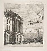Le Ministère de la Marine (the Admiralty, Paris)