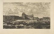 The Old Louvre, Paris,  after Zeeman