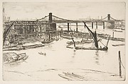 Old Hungerford Bridge