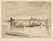 Early Morning, Battersea also called Battersea Dawn (Cadogan Pier)