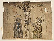 Christ on the Cross with the Virgin and St. John (Schr. 427a)