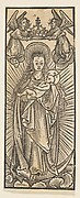Madonna in Glory Crowned by Angels (Schr. 1111c)