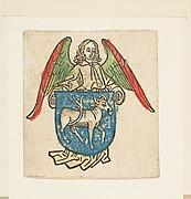Bookplate of Hilprant Brandenburg (Schr. 2038)