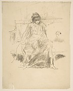 The Draped Figure, Seated (from L'Estampe originale, Album IV)