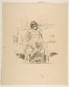 The Draped Figure Seated (from L'Estampe originale, Album IV)