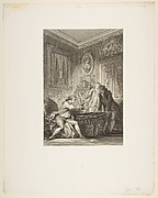 La Coupe Enchantee, from Contes et nouvelles en vers par Jean de La Fontaine.  A Paris, de l&amp;#39;imprimerie de  P. Didot, l&amp;#39;an III de la R&#233;publique, 1795