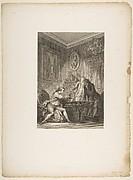 La Coupe Enchantee, from Contes et nouvelles en vers par Jean de La Fontaine.  A Paris, de l'imprimerie de  P. Didot, l'an III de la République, 1795