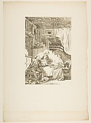 Le Faucon, from Contes et nouvelles en vers par Jean de La Fontaine.  A Paris, de l&amp;#39;imprimerie de  P. Didot, l&amp;#39;an III de la R&#233;publique, 1795