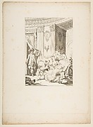 Le Mari confesseur, from Contes et nouvelles en vers par Jean de La Fontaine.  A Paris, de l'imprimerie de  P. Didot, l'an III de la République, 1795