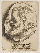 Portrait of Charles Meryon, in profile