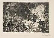 Monsierur Le Comte's Fireworks Explode