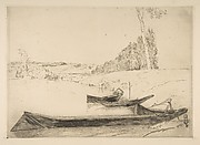 Bachots au bords de la Seine