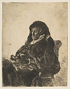 Portrait of Rembrandt's Mother