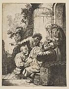 Joseph's Coat Brought to Jacob (reverse copy)