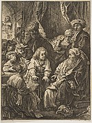 Joseph Telling His Dreams (reverse copy)