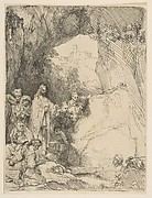 The Raising of Lazarus, small plate