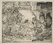 The Adoration of the Shepherds, with the lamp