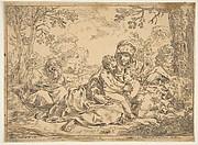 Holy Family with Saint John the Baptist