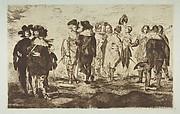 """The Little Cavaliers, after """"Velázquez"""""""