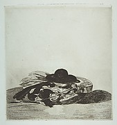 "Hat and Guitar. Cover design for ""Eaux-fortes par Edouard Manet,"" an album of fourteen etchings"