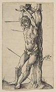 St. Sebastian Tied to a Tree