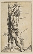 St. Sebastian Tied to a Tree (reverse copy)
