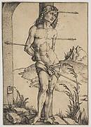 St. Sebastian Bound to the Column
