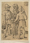Three Peasants in Conversation (reverse copy)