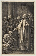St. Peter and St. John at the Gate of the Temple, from The Passion