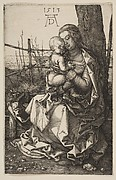 Virgin and Child Seated by a Tree