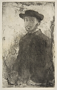 Edgar Degas: Self Portrait