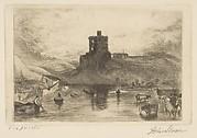Dedham Castle, After Turner