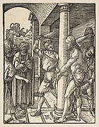 The Scourging of Christ, from The Little Passion