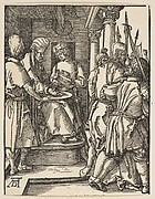 Pilate Washing His Hands, from The Little Passion