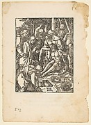 The Lamentation, from The Little Passion, edition Venice, 1612