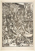 The Martyrdom of Saint John, from The Apocalypse, Latin Edition 1511