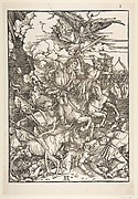 The Four Horsemen, from The Apocalypse, Latin Edition, 1511