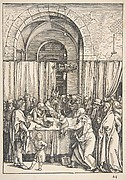 The Rejection of Joachim's Offering from The Life of the Virgin