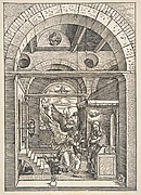 The Annunciation, from The Life of the Virgin, 1511