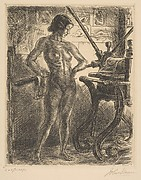 Nude and Etching Press
