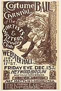 Costume Ball Poster