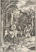 The Flight into Egypt, from The Life of the Virgin, 1511
