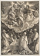 The Assumption and Coronation of the Virgin, from The Life of the Virgin