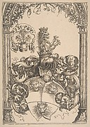 Coat of arms with Three Lions' Heads