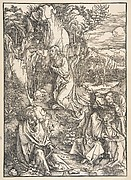 Christ on the Mount of Olives, from The Large Passion
