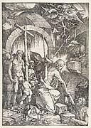 Christ in Limbo, from The Large Passion, edition 1511