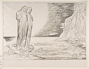 The Circle of Traitors: Dante's Foot Striking Bocca degli Abbate, from Dante's Inferno, Canto XXXII
