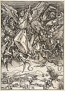 Saint Michael Fighting the Dragon, from The Apocalypse